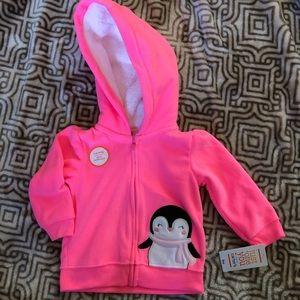NWT Carter's Girl's sweatshirt